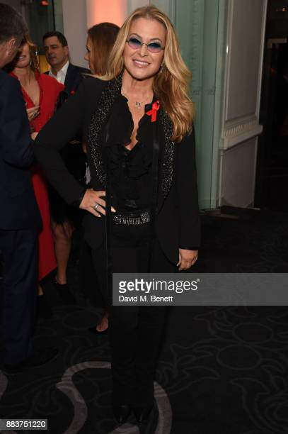 Anastacia attends the World Aids Day Charity Gala aimed at using football to educate and inspire vulnerable young people in developing countries at 8...