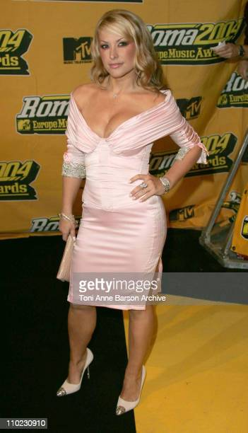 Anastacia during 2004 MTV European Music Awards Arrivals at Tor di Valle in Rome Italy