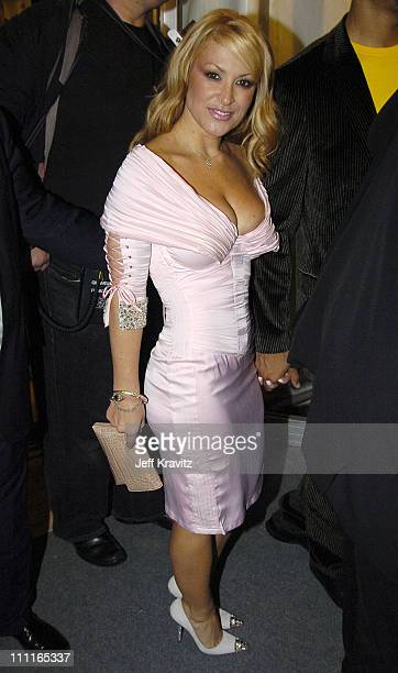 Anastacia during 2004 MTV European Music Awards Red Carpet at Torr di Valle in Rome Italy
