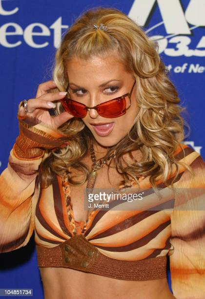 Anastacia during KTU's Miracle on 34th Street at Madison Square Garden in New York City New York United States