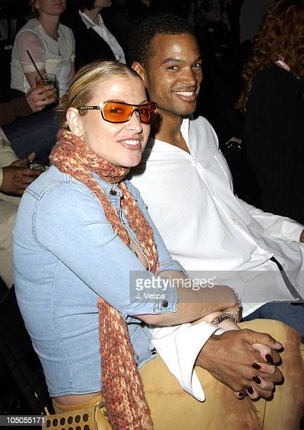 Anastacia during MercedesBenz Shows LA Richard Tyler Front Row and Backstage at The Standard Downtown LA in Los Angeles California United States