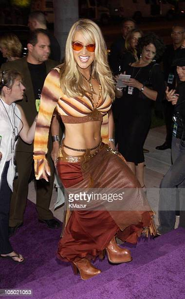 Anastacia during MTV Video Music Awards Latinoamerica 2002 Arrivals at Jackie Gleason Theater in Miami Florida United States