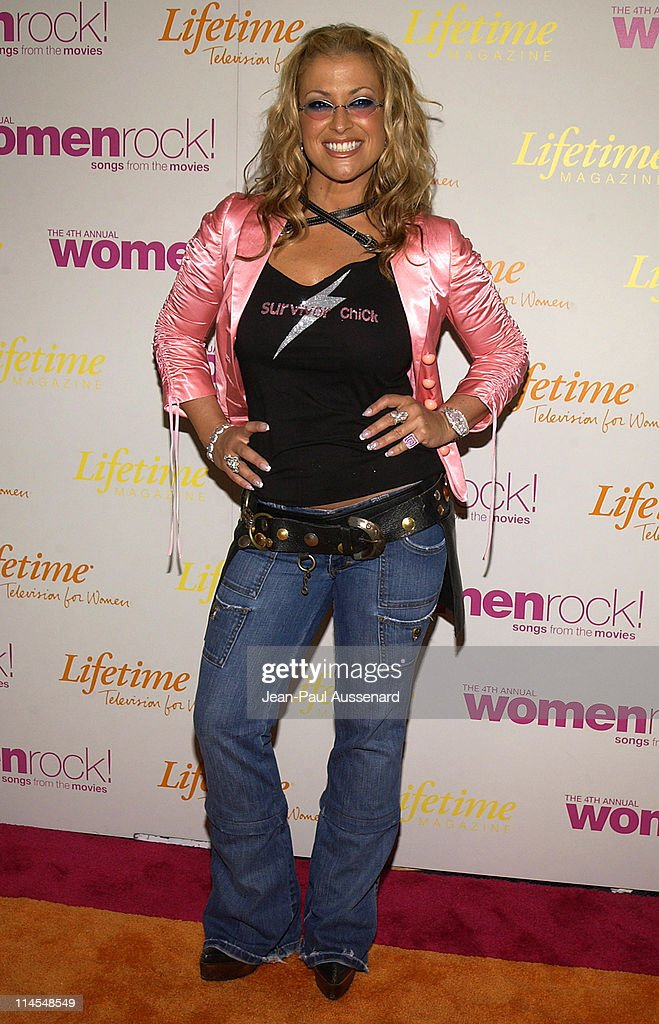 Anastacia during The 4th Annual Women Rock! Songs From The Movies - Arrivals at Kodak Theater in Hollywood, California, United States.