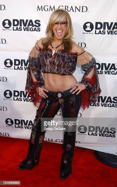 Anastacia during VH1 Divas 2002 Arrivals at MGM Grand Arena in Las Vegas Nevada United States