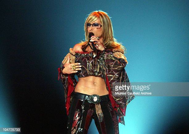 Anastacia during VH1 Divas 2002 Show at MGM Grand Arena in Las Vegas Nevada United States