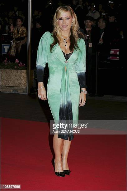 Anastacia in Cannes France on January 22 2005