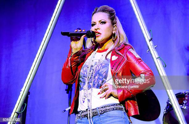 Anastacia performs at Albert Hall on May 5 2016 in Manchester England