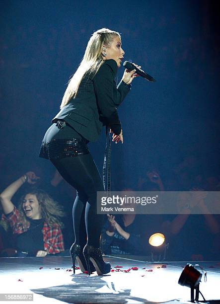 Anastacia performs at Night Of The Proms at Ahoy on November 23 2012 in Rotterdam Netherlands