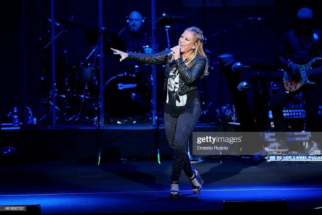Anastacia performs during the Resurrection Tour at Auditorium Parco Della Musica on July 22, 2015 in Rome, Italy.