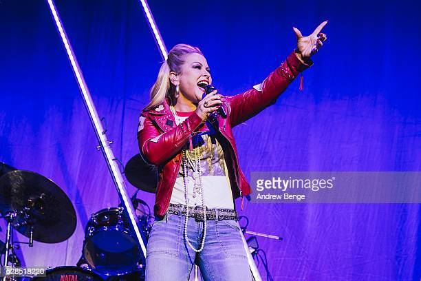 Anastacia performs on stage at Albert Hall on May 5 2016 in Manchester England