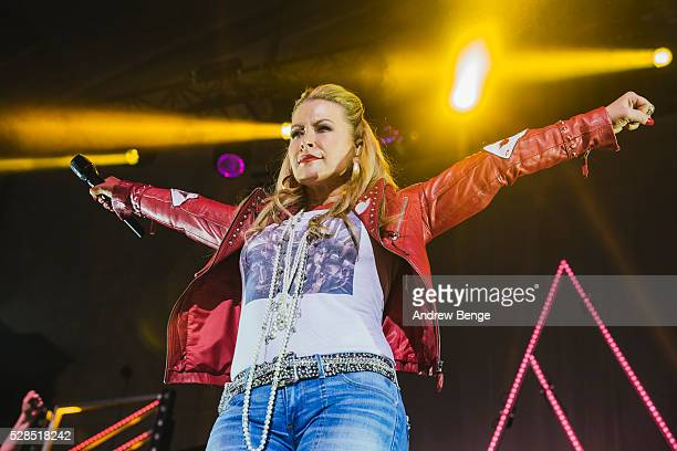 Anastacia performs on stage at Albert Hall on May 5, 2016 in Manchester, England.