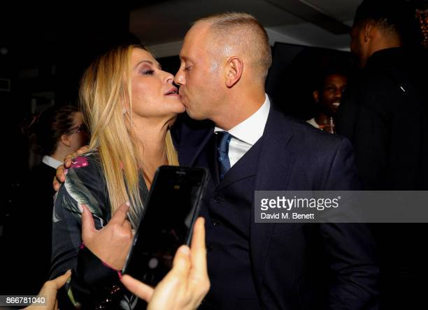 Anastasia and Judge Rinder attend the launch of the Anastacia x Arctic Circle Diamond collection at Sanctum Soho on October 26 2017 in London England