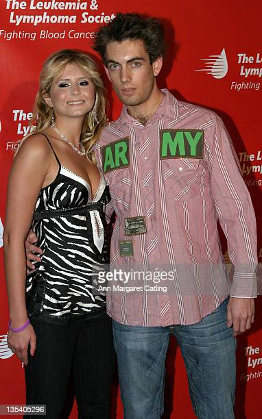 Anastasia Ashley and Adam Taki during The Leukemia and Lymphoma Society Presents The 2nd Annual Celebrity Rock N Bowl EventArrivals at Lucky Strikes...