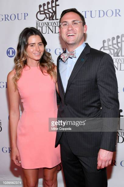 Anastasia Ashley and Dr Abraham Kaslow attend the 33rd Annual Great Sports Legends Dinner which raised millions of dollars for the Buoniconti Fund to...