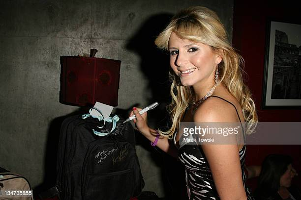 Anastasia Ashley during 2006 Celebrity Rock 'n Bowl with gift bags created by Klein Creative Communications at 'Lucky Strike Lanes' in Hollywood...
