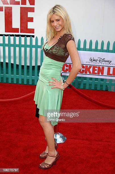 Anastasia Ashley during Disney's 'Chicken Little' Los Angeles Premiere Arrivals at El Capitan in Hollywood California United States
