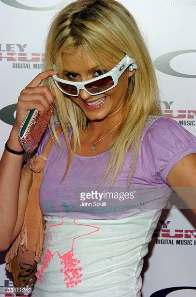 Anastasia Ashley during Oakley Thump 2 Launch Party - October 12, 2005 at Montmartre Lounge in Hollywood, California, United States.