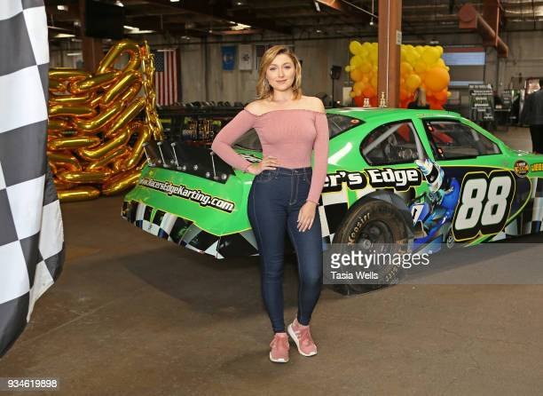 Anastasia Baranova attends The Brand Bash's Adrenaline Bash at Racer's Edge on March 18 2018 in Burbank California