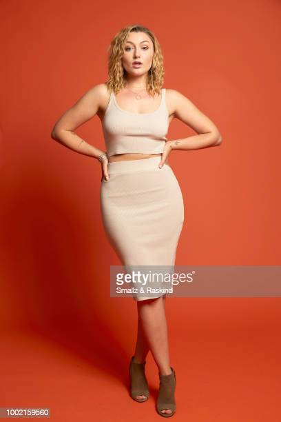 Anastasia Baranova from SYFY's 'Z Nation' poses for a portrait in the Getty Images Portrait Studio powered by Pizza Hut at San Diego 2018 Comic Con...