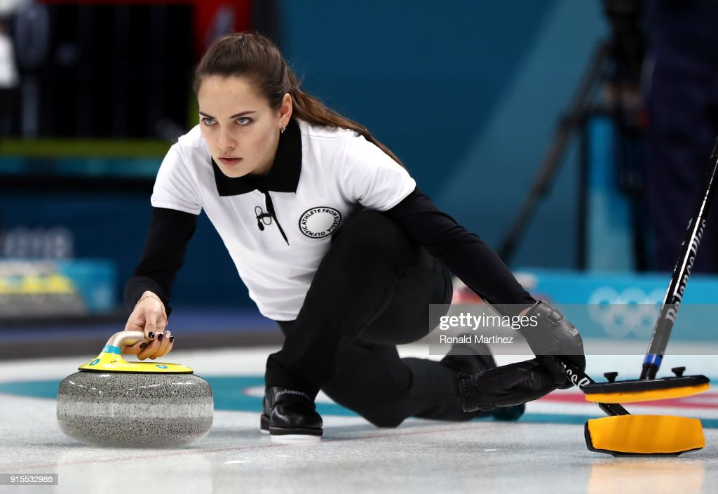 Curling - Winter Olympics Day - 1