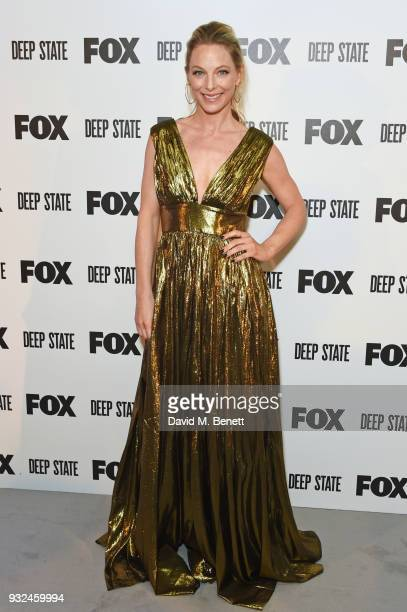 Anastasia Griffith attends the Global Premiere of 'Deep State' the new espionage thriller from FOX at The Curzon Soho on March 15 2018 in London...