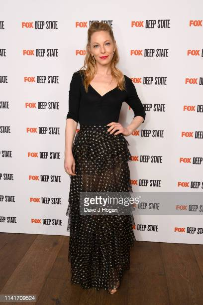 Anastasia Griffith attends the season 2 launch of Deep State at The Ham Yard Hotel on April 09 2019 in London England