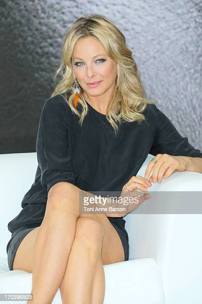 Anastasia Griffith poses at a photocall during the 53rd Monte Carlo TV Festival on June 11 2013 in MonteCarlo Monaco