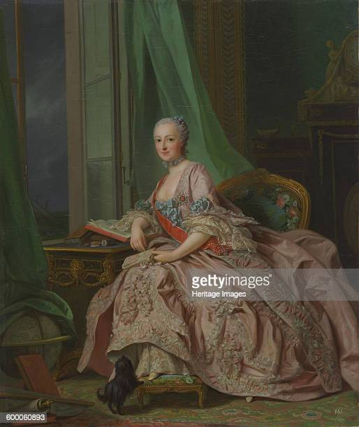 Anastasia Ivanovna, Princess of Hesse-Homburg , née Countess Trubetskaya, 1757. Found in the collection of National Gallery of Victoria, Melbourne....