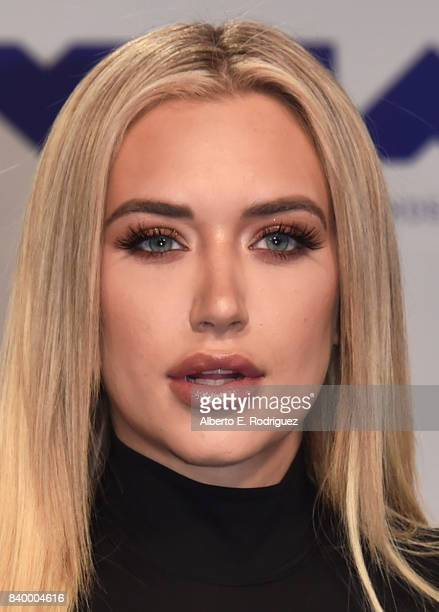 Anastasia Karanikolaou attends the 2017 MTV Video Music Awards at The Forum on August 27 2017 in Inglewood California