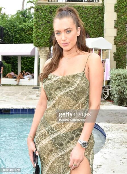 Anastasia Karanikolaou attends the Lumière De Vie Resort during Art Basel on December 4, 2018 in Miami Beach, Florida.