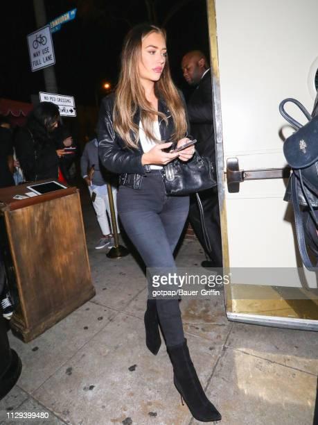 Anastasia Karanikolaou is seen on March 09 2019 in Los Angeles California