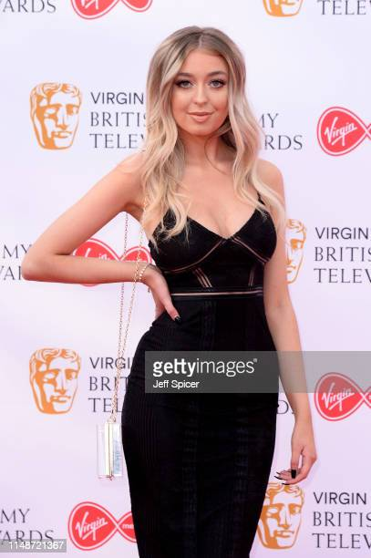 Anastasia Kingsnorth attends the Virgin Media British Academy Television Awards 2019 at The Royal Festival Hall on May 12 2019 in London England