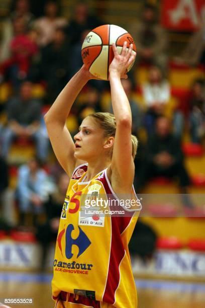 Anastasia KOSTAKI Pays d'Aix Basket 13 / Challes les Eaux 21e journee Ligue feminine