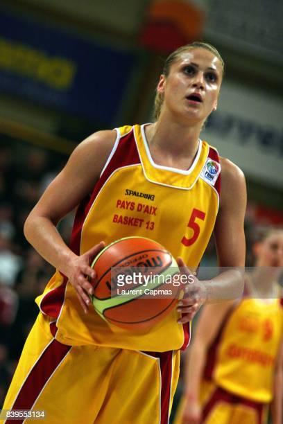 Anastasia KOSTAKI Aix en Provence / Spartak Moscou Finale aller Eurocoupe