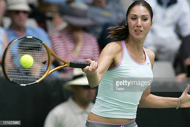 Anastasia Myskina at the 2007 ASB Classic in Auckland New Zealand on January 1 2007
