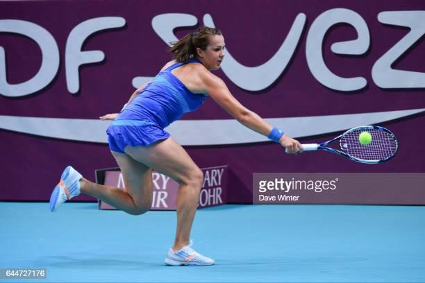Anastasia PAVLYUCHENKOVA Open GDF Suez 2014 WTA Photo Dave Winter / Icon Sport