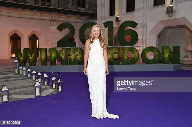 Anastasia Potapova attends the Wimbledon Winners Ball at The Guildhall on July 10 2016 in London England
