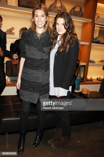 Anastasia Rogers and Jessie Cohan attend TOD'S and VOGUE Event to Benefit SAVE VENICE at TOD'S on March 11, 2009 in New York.