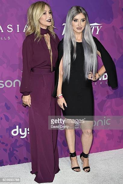 Anastasia Soare and Claudia Soare attend the Variety WWD Host Second Annual StyleMakers Awards Arrivals at Quixote Studios West Hollywood on November...