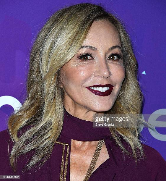 Anastasia Soare arrives at the Variety And WWD Host 2nd Annual StyleMakers Awards at Quixote Studios West Hollywood on November 17 2016 in West...