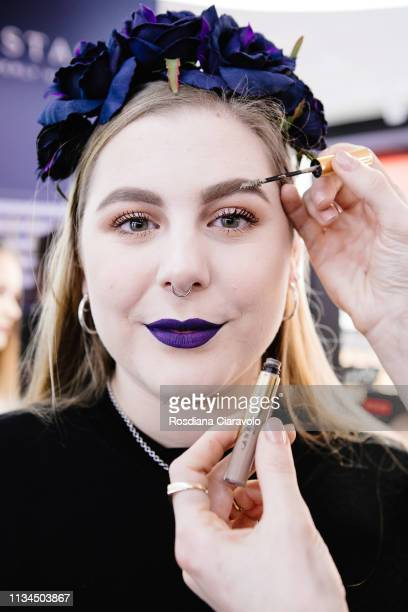 Anastasia Soare arrives to Meet Greet Anastasia Beverly Hills At Sephora Milano Duomo on March 08 2019 in Milan Italy