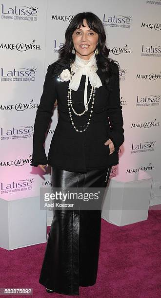 'Anastasia Soare arrives to the Launch Party for Latisse a new drug approved by the FDA to help grow longer and fuller eyelashes at a venue on La...