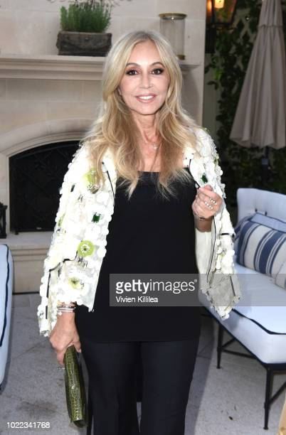 Anastasia Soare attends Ohana Co LA Event Brands With Mission at The Peninsula Beverly Hills on August 23 2018 in Beverly Hills California