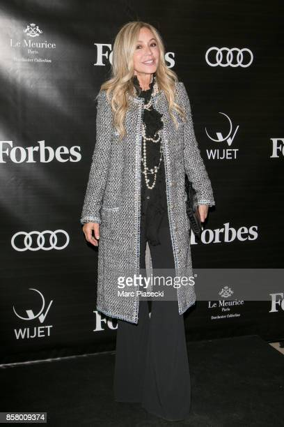 Anastasia Soare attends the launch of 'Forbes Magazine' France at Hotel Meurice on October 5 2017 in Paris France