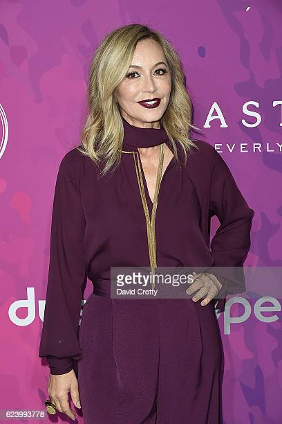 Anastasia Soare attends the Variety WWD Host Second Annual StyleMakers Awards Arrivals at Quixote Studios West Hollywood on November 17 2016 in West...
