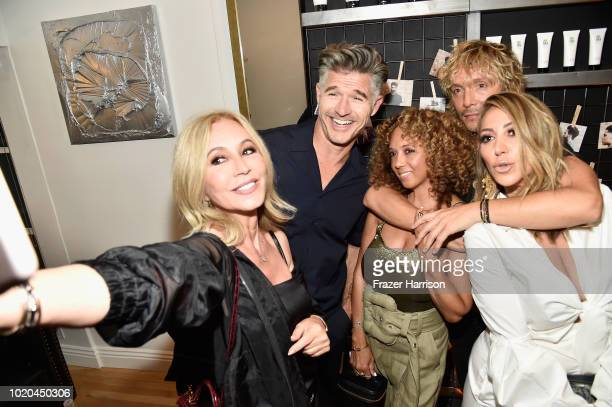 Anastasia Soare Eric Rutherford Charlene Roxborough Ken Paves and Diana Madison attend the House 99 by David Beckham party hosted by Ken Paves at his...