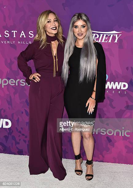 Anastasia Soare founder of Anastasia Beverly Hills and Claudia Soare president of Anastasia Bevely Hills attend the 2nd Annual StyleMaker Awards...