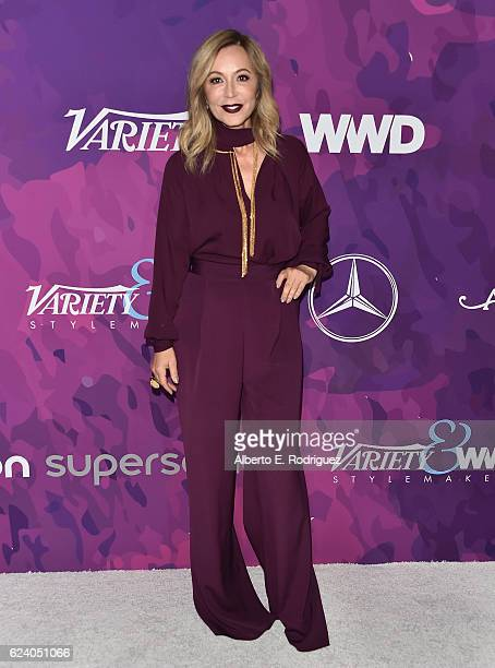 Anastasia Soare founder of Anastasia Beverly Hills attends the 2nd Annual StyleMaker Awards hostd by Variety and WWD at Quixote Studios West...