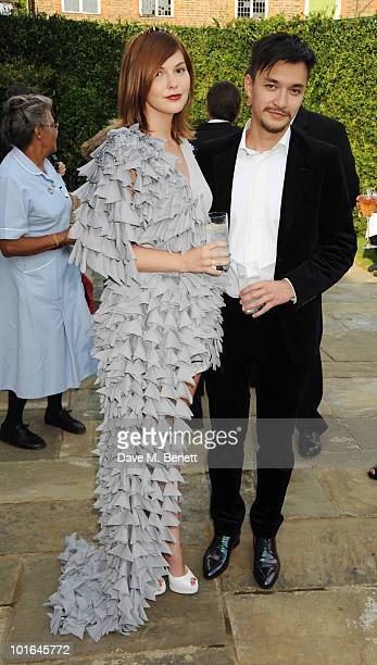 Anastasia Virganskaya attends the Raisa Gorbachev Foundation Party at Stud House Hampton Court Palace on June 5 2010 in Richmond upon Thames London...