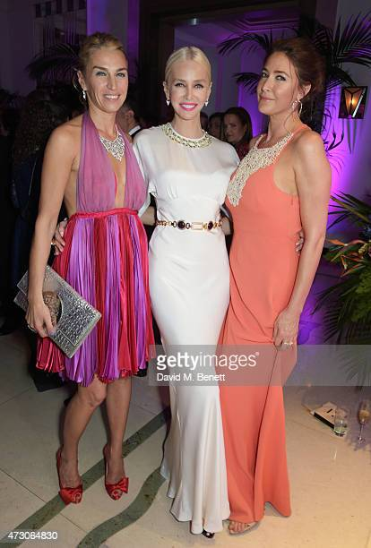 Anastasia Webster Amanda Cronin and Lisa Snowdon attend the Spring Gala In Aid of the Red Cross War Memorial Children's Hospital hosted by QBF and...